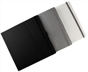 Oberthur Sunset Kalın Ciltli/Varaklı 25×25cm Çizgisiz Defter Kenar Lastikli/Kalemli