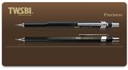 TWSBI Precision FixPipe Black Sabit Uçlu Metal Gövdeli Mekanik Kurşun Kalem - 2 Farklı Uç Seçeneği