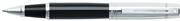 SHEAFFER 300 Parlak Krom/Siyah Roller Kalem