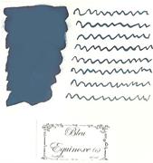L Artisan Pastellier Callifolio Dolmakalem Mürekkebi / 40 ml Cam şişe - Sonbahar Gündönümü Mavi