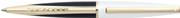 SHEAFFER Taranis™ White Lightning Parlak Lake Beyaz/Siyah Altın Kap.Tükenmez Kalem