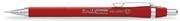 Scrikss Simo Kırmızı Gövdeli Mekanik Kurşunkalem(Versatil) - 2 Farklı Uç Seçeneği