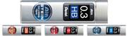 Pentel Ain STEIN Seramik Alaşımlı 0.3x60mm-15 adet Mekanik Kurşun Kalem Ucu - 4 Farklı derece seçeneği