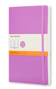 MOLESKINE Soft Cover Orchid Purple Ruled Notebook 9x14cm