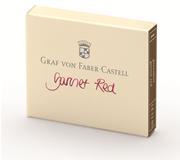 Graf von Faber-Castell Dolmakalem Kartuşu 6 lı - Nar Kırmızı