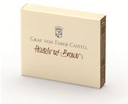 Graf von Faber-Castell Dolmakalem Kartuşu 6 lı - Fındık Kahve