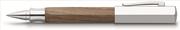 Faber-Castell Ahşap Ondoro Beşgen Meşe Ağacı Gövde/Parlak Krom Kapak Roller Kalem