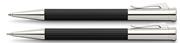 Graf von Faber-Castell Tamitio Mat Lake Siyah Tükenmezkalem + M.Kurşunkalem