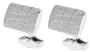 CROSS Foster Gravür İşlemeli Çelik Kol Düğmesi