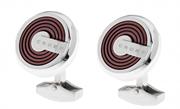 CROSS Tiverton PVD Kahverengi Kaplama/Çelik Kol Düğmesi