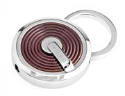 CROSS Tiverton PVD Kahverengi Kaplama/Çelik Anahtarlık
