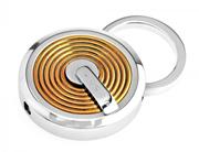 CROSS Tiverton PVD Altın Kaplama/Çelik Anahtarlık
