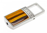 CROSS Bristol Kaplan Gözü Taş/Çelik Anahtarlık