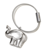 TROIKA Little Elephant  Mat Krom Fil Temalı Anahtarlık 32x17x30mm