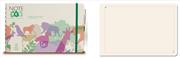 Note Eco Organic Notebook Spiralli Düz 23.6x14.5cm - Kalem Hediyeli
