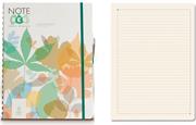 Note Eco Organic Notebook 21.7x27.6cm Spiralli Çizgili - Kalem Hediyeli