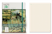 Note Eco Organic Notebook 21.7x27.6cm Spiralli Kareli - Kalem Hediyeli