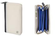 MOLESKINE Zip Wallet Fonksiyonel Güvenli Cüzdan Bej 11x18x2cm