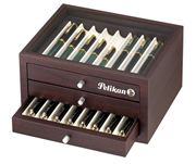 Pelikan Collectors' Box 24 Kalemlik Ahşap Kutu 25 x 20 x 13.5cm