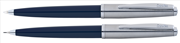 Scrikss Metropolis78 Lacivert Akrilik-Çelik Tükenmez Kalem + Versatil Kalem Set