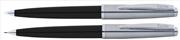 Scrikss Metropolis78 Siyah Akrilik-Çelik Tükenmez Kalem + Versatil Kalem Set