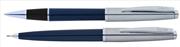 Scrikss Metropolis78 Lacivert Akrilik-Çelik Roller Kalem + Versatil Kalem Set