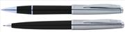 Scrikss Metropolis78 Siyah Akrilik-Çelik Roller Kalem + Versatil Kalem Set