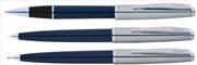 Scrikss Metropolis78 Lacivert Akrilik-Çelik Rollerkalem + Tükenmezkalem + Versatilkalem Set