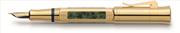 "Graf Von Faber-Castell Pen Of The Year 2015 ""Sanssouci Sarayı, Potsdam"" 24 ayar Altın Kaplama Dolma Kalem"