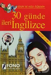FONO / 30 GÜNDE İLERİ İNGİLİZCE KİTAP + 2 CD