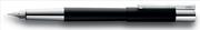 LAMY Scala High-end Kapaklı Mat Siyah/Parlak Krom Dolma Kalem