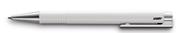 LAMY LOGO M+ Parlak Beyaz/Krom Tükenmez Kalem