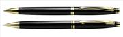 Steelpen Clk797 Parlak Siyah/Altın Tükenmez Kalem + Versatil Kalem Set