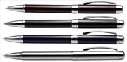 Steelpen Star590 Parlak Gövdeli / Krom Aksamlı Tükenmez Kalem - 4 Farklı Renk Seçeneği