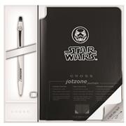 Cross Click Kalem+Jotzone Deri Defter Star Wars Hediye Set - Stormtrooper