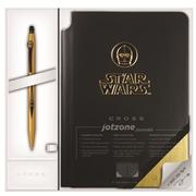 Cross Click Kalem+Jotzone Defter Star Wars Hediye Set - C-3PO
