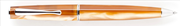 DELTA Italiana  Amber Dalgalı Resin/Platinyum Tükenmez Kalem