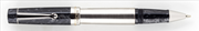 DELTA Vin Touch Screen Damarlı Siyah Reçine/Çelik Roller Kalem