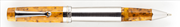 DELTA Vin Touch Screen Damarlı Amber Renk Reçine/Çelik Roller Kalem