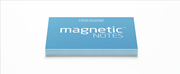 Magnetic Notes Her Yüzeye Yapışıp Çıkabilen Tutkalsız Statik Not Kağıdı - 100 lü Mavi/Küçük