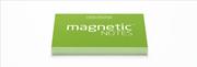 Magnetic Notes Her Yüzeye Yapışıp Çıkabilen Tutkalsız Statik Not Kağıdı - 100 lü Yeşil/Küçük