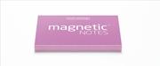 Magnetic Notes Her Yüzeye Yapışıp Çıkabilen Tutkalsız Statik Not Kağıdı - 100 lü Pembe/Küçük
