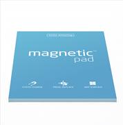 Magnetic Pad Her Yüzeye Yapışıp Çıkabilen Tutkalsız Statik Not Kağıdı - 50 li Mavi/A4