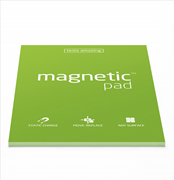 Magnetic Pad Her Yüzeye Yapışıp Çıkabilen Tutkalsız Statik Not Kağıdı - 50 li Yeşil/A4