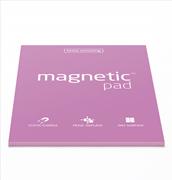 Magnetic Pad Her Yüzeye Yapışıp Çıkabilen Tutkalsız Statik Not Kağıdı - 50 li Pink/A4