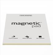 Magnetic Pad Her Yüzeye Yapışıp Çıkabilen Tutkalsız Statik Not Kağıdı - 50 li Şeffaf/A4