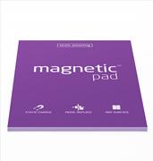 Magnetic Pad Her Yüzeye Yapışıp Çıkabilen Tutkalsız Statik Not Kağıdı - 50 li Mor/A4