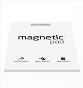 Magnetic Pad Her Yüzeye Yapışıp Çıkabilen Tutkalsız Statik Not Kağıdı - 50 li Beyaz/A4