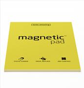 Magnetic Pad Her Yüzeye Yapışıp Çıkabilen Tutkalsız Statik Not Kağıdı - 50 li Sarı/A4