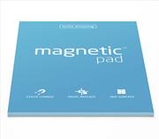 Magnetic Pad Her Yüzeye Yapışıp Çıkabilen Tutkalsız Statik Not Kağıdı - 50 li Mavi/A3